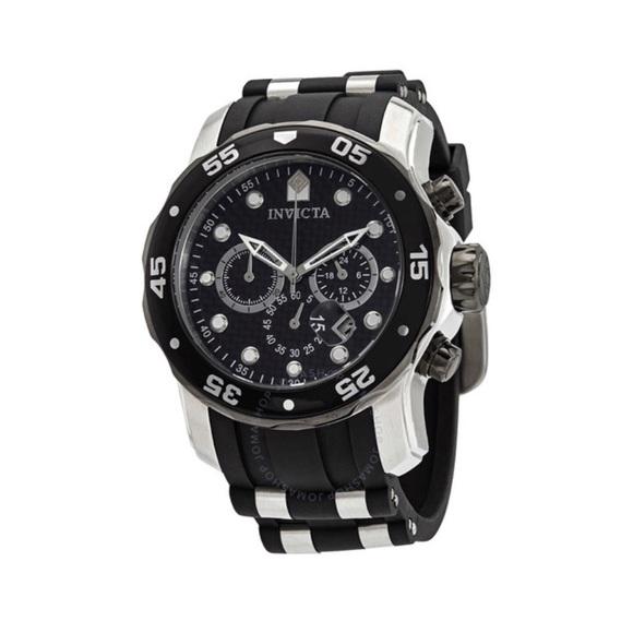 Invicta Other - INVICTA Pro Diver Chronograph Black Watch 17879